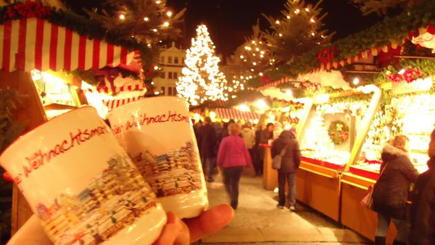 Christmas market, Germany, mulled wine