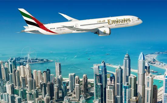 Emirates, Boeing, 787