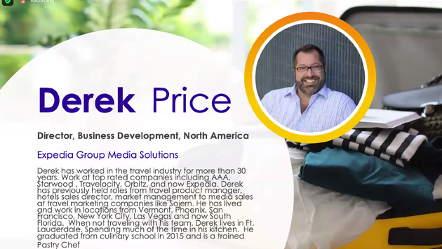 Derek Price, Expedia