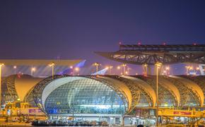 Suvarnabhumi International Airport in Bangkok, Thailand
