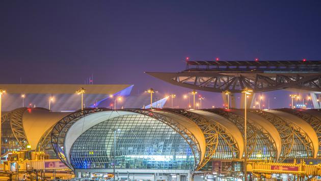 Suvarnabhumi International Airport in Bangkok, Thailand