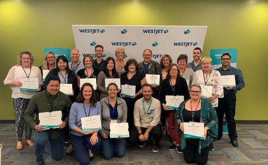 Westjet conférence à Calgary