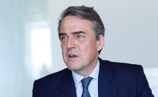 Alexandre de Juniac, Director General and CEO of IATA.