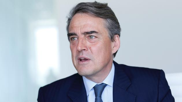 Alexandre de Juniac, Director General and CEO of IATA.