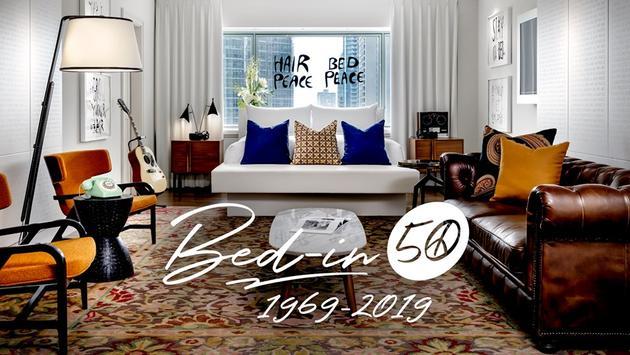 Le Fairmont Reine Elizabeth célèbre les 50 ans du Bed-In