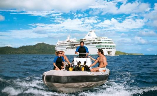 SCUBA Diving, Paul Gauguin Cruises