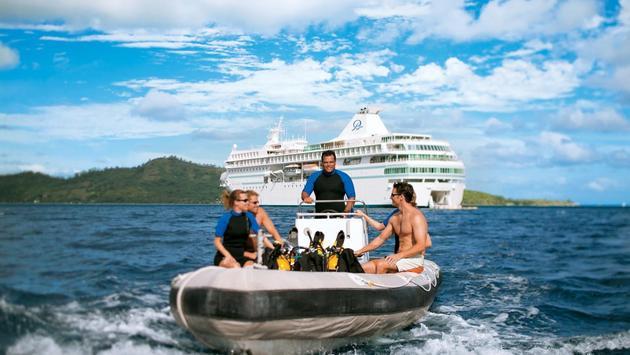 SCUBA Diving, Paul Gauguin Cruises