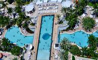 Diplomat Beach Resort, Hollywood Florida, pool