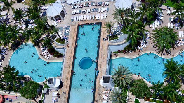 Diplomat Beach Resort, Hollywood Florida, pool