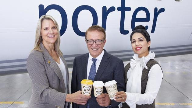 Porter Airlines s'associe à Balzac et Sloane