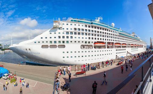 Sun Princess cruise ship