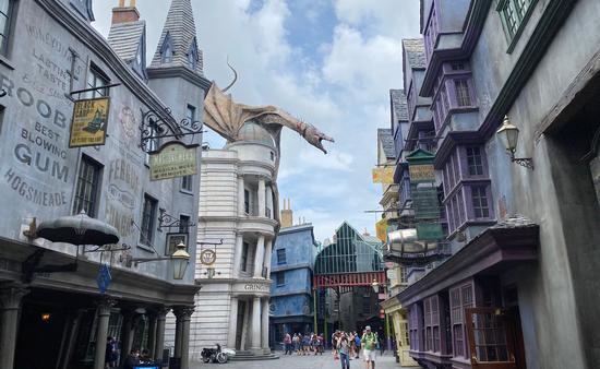 Universal Studios Orlando's Diagon Alley