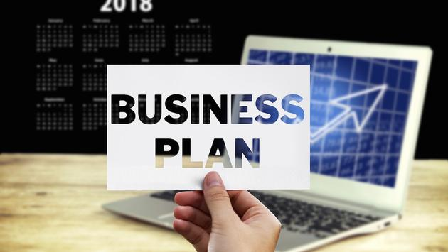 Business plan 2018 calendar laptop