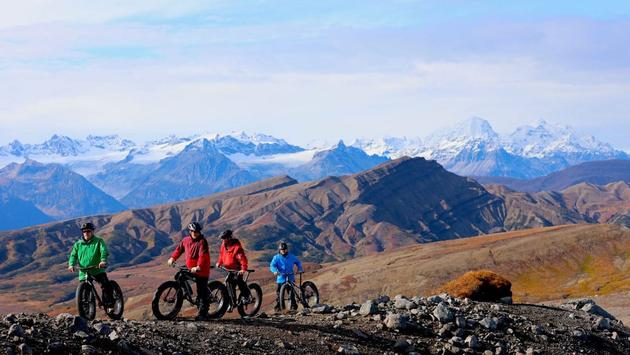 Tordrillo Mountain Lodge Heli-Biking