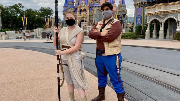 Adult Costumes at Magic Kingdom in Walt Disney World Resort