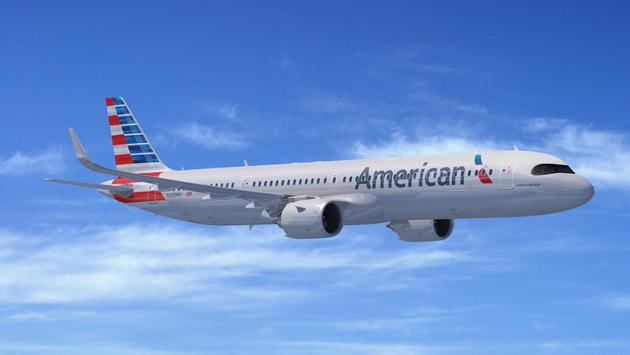 American, Airlines, airbus