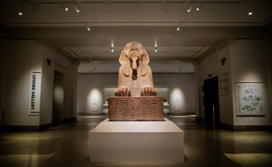 Penn Museum's Sphinx