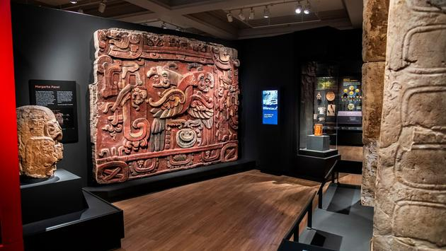 Mexico and Central America gallery at the Penn Museum