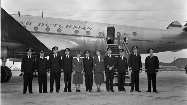 70 ans du premier vol KLM à Montréal