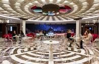 public lounge on Costa Smeralda