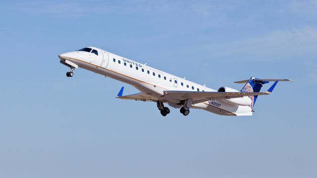 United Express flight
