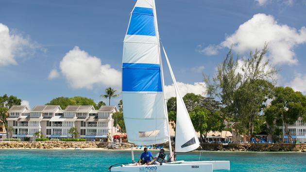 Sailing at The Club Barbados