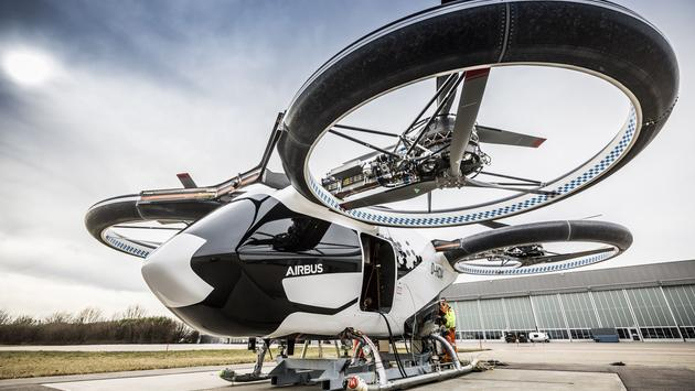 Airbus CityBus Prototype at 2019 Paris Air Show