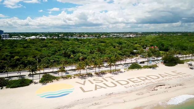 Visit Lauderdale branding