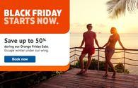 Sunwing Black Friday Orange Friday Sale