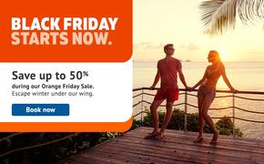Sunwing Black Friday Orange Friday Sale