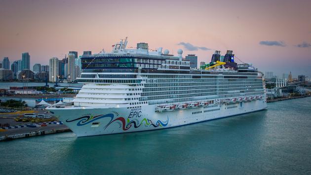 Norwegian Epic in Port of Miami