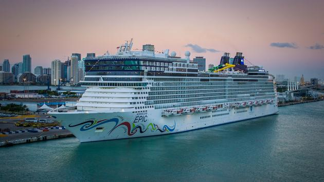 Norwegian Epic in Port of Miami