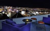 Skyfall Lounge patio at Delano Las Vegas