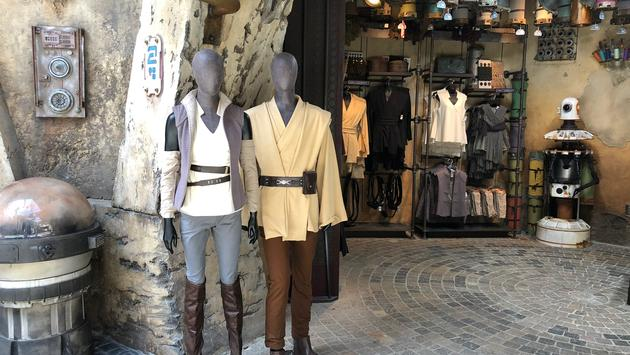Black Spire Outfitters at Star Wars: Galaxy's Edge at Disneyland