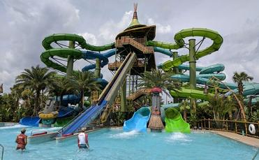 Taniwah Tubes ride at Volcano Bay, Universal Orlando