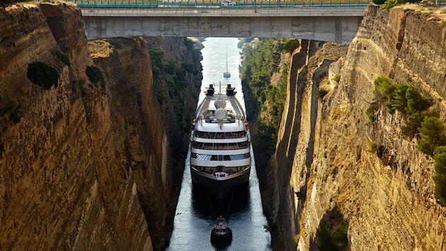 Windstar Corinth Canal Greece