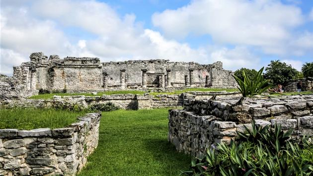 Ruins of the Great Palace of Tulum
