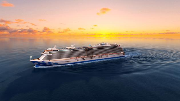 Princess Cruises' new Enchanted Princess