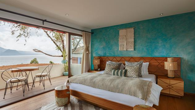 No. 12 Santiago Jr. Suite at Casa Palopo is just one of the newest rooms on the property. (photo courtesy of Casa Palopo)