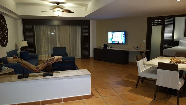 The Premium One Bedroom Suite at Hyatt Ziva Los Cabos Resort.