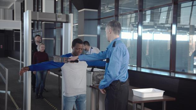 Airport, security, checkpoint
