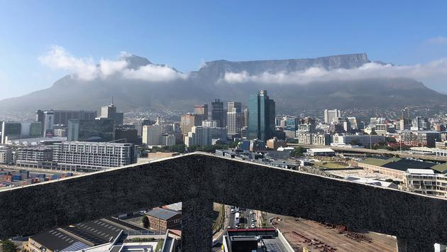 Cape Town and Table Mountain view from The Silo