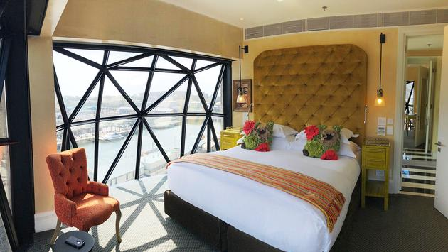 Guest room at The Silo in Cape Town