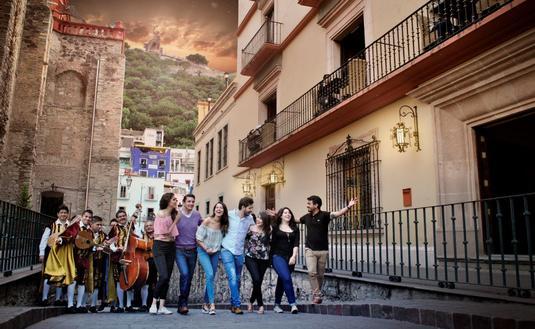 Guanajuato ha sido reconocida como ciudad patrimonio de la humanidad. (Foto de eme-media.com).