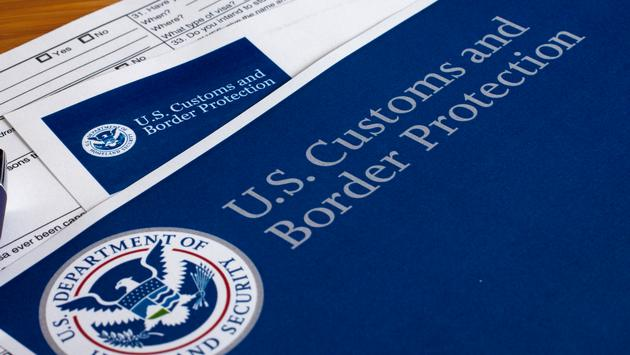 U.S. Customs and Border Protection forms.