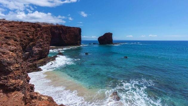 Lanai, a Hawaiian Island off of Maui