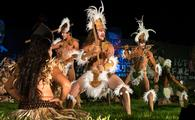 Tapati celebration on Rapa Nui, also known as Easter Island, Chile.
