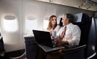 Passengers in the United BusinessFirst class