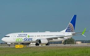 United's Eco-Skies 737-900ER aircraft