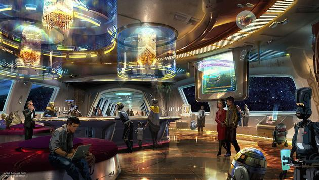 Disney Star Wars-themed resort rendering